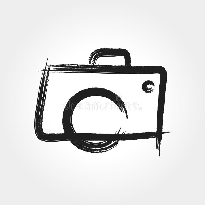 A Simple Hand Drawn Camera Photography Symbol For Your Business That Quite Unique So It Can Stand From The Crowd Easy To Implement In Future Needs