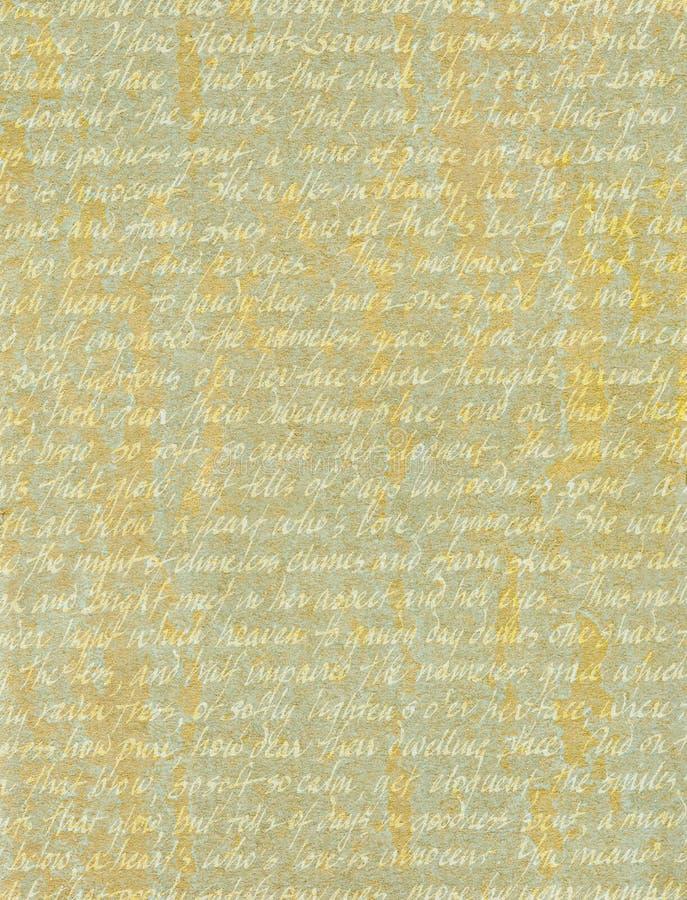 Love Poem stock photo