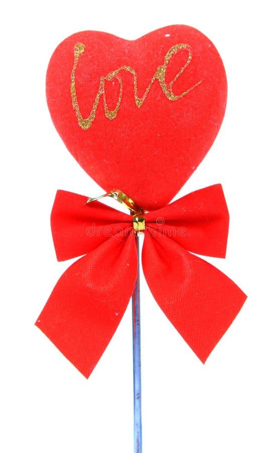 Love post stock photo