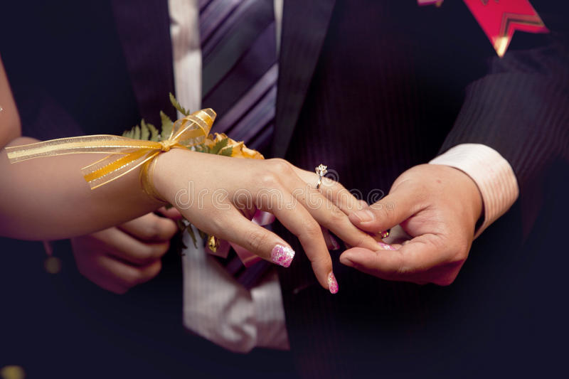 Download Love Promise stock image. Image of beauty, groom, beautiful - 17115227