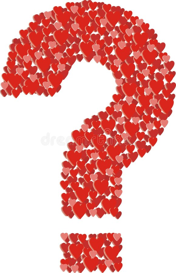 Love Question Stock Photo