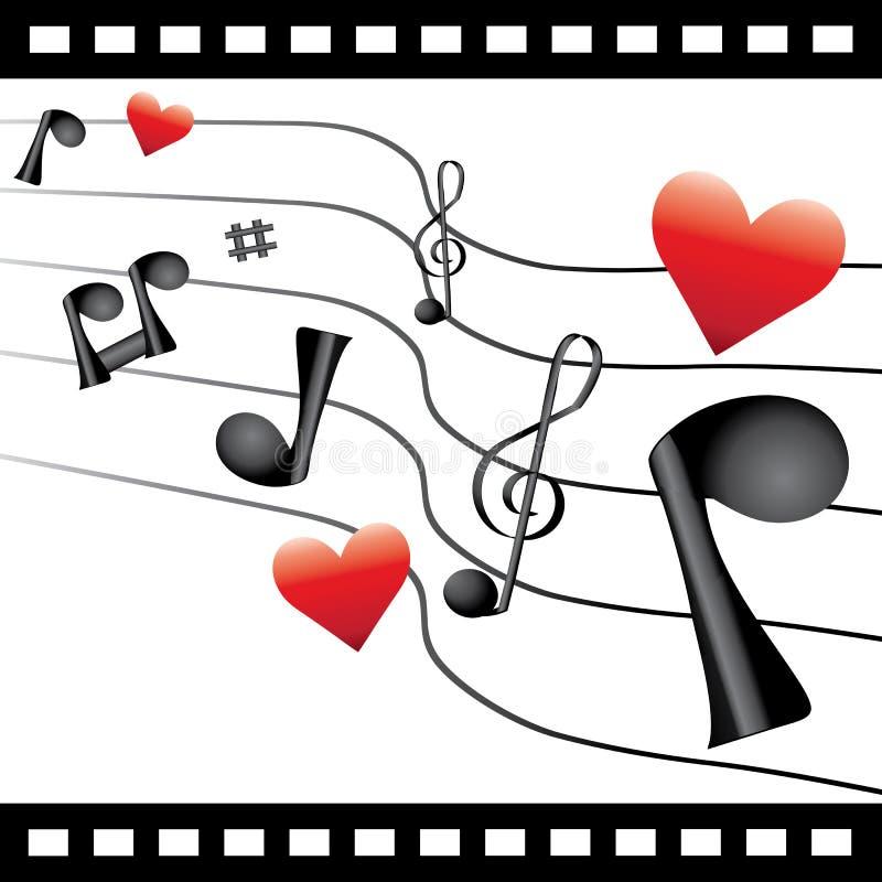 Download Love  rhythm stock vector. Illustration of valentine - 21899433