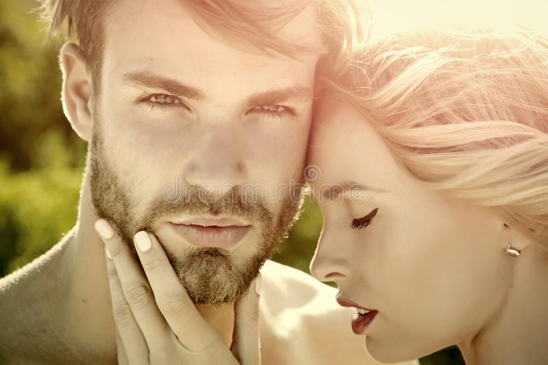 Love and romance. stock photography