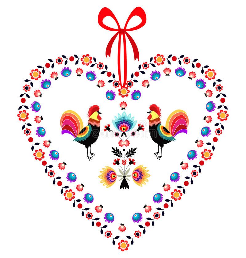 Free Love Roosters Stock Photography - 36999062