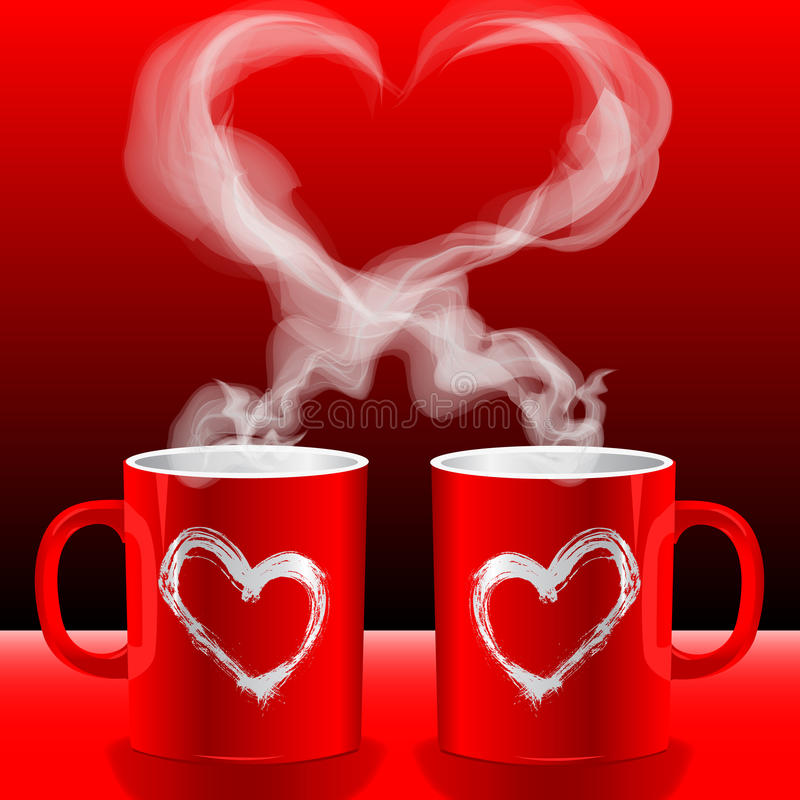 Free Love S Cups Royalty Free Stock Photo - 12353805