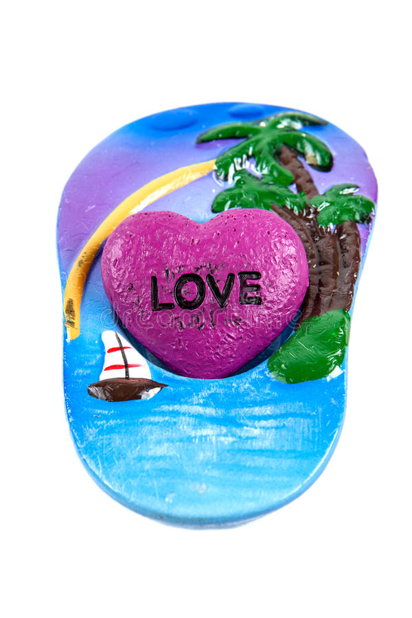Download Love Sandal stock photo. Image of candle, object, rock - 37467652
