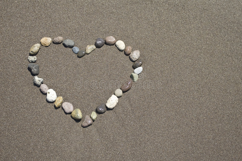 Download Lovein the sandy beach stock image. Image of summer, coast - 6528867