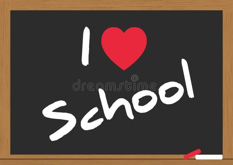 Download Love school stock vector. Image of education, board, handwriting - 26418432