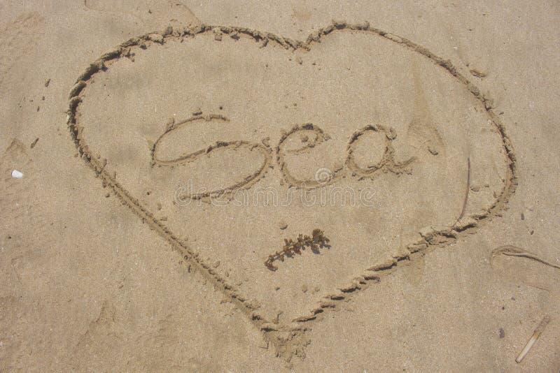 Love Sea royalty free stock photo