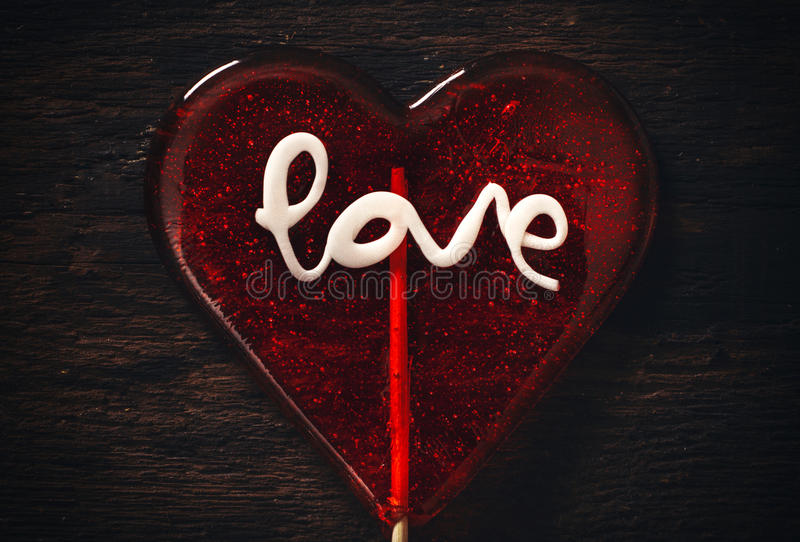 Love sign stock image