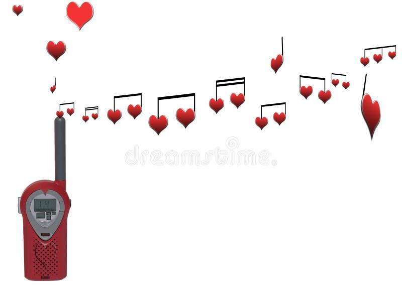 Love signals stock photo