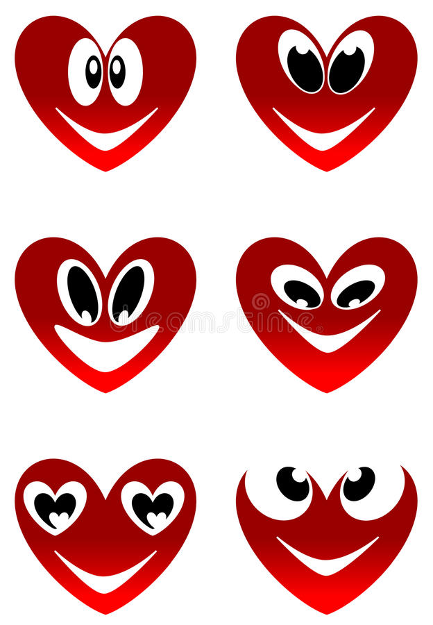 Download Love smiles stock vector. Illustration of passion, sign - 28707437