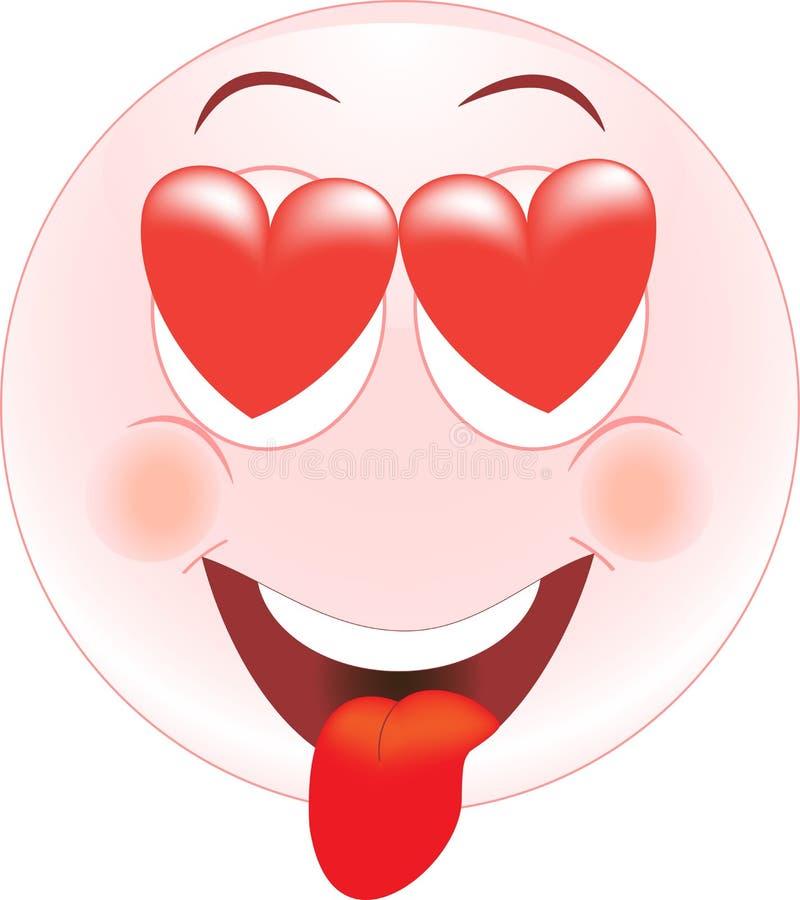 Download Love Smiley, Icon, Emotions Stock Illustration - Illustration: 25992914