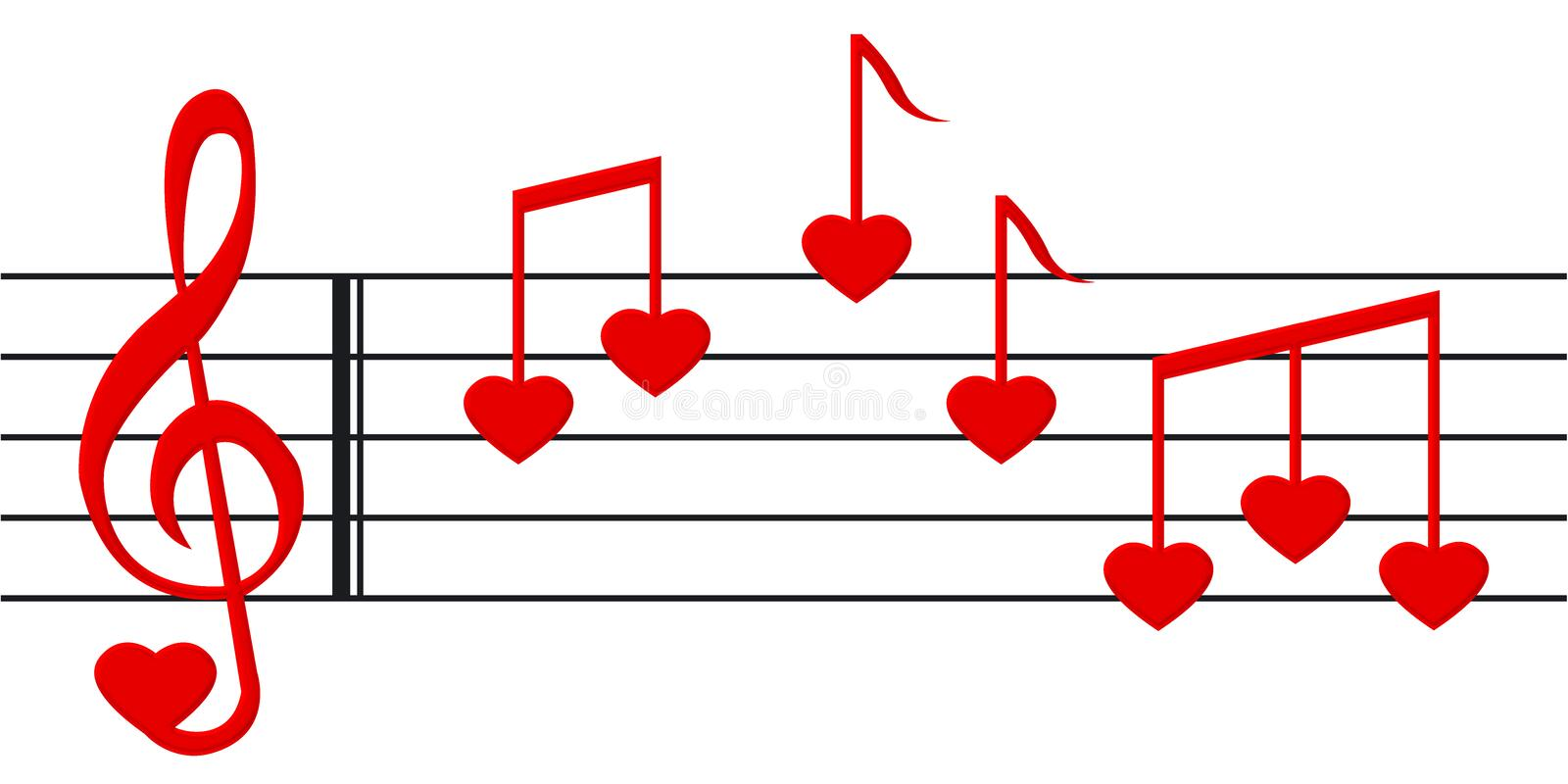 Download Love song 2 stock image. Image of valentine, music, love - 1868745