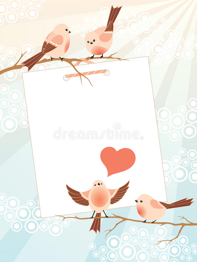 Love Song Frame Stock Images