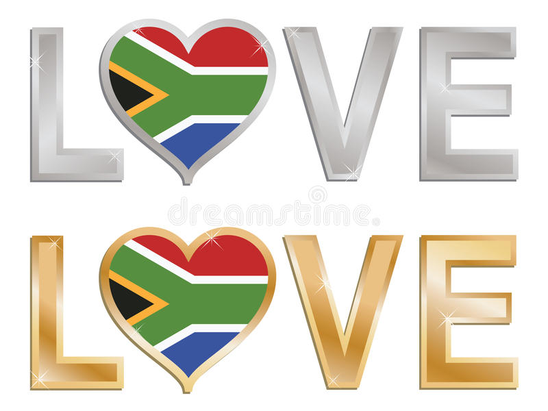 Love South Africa Royalty Free Stock Images