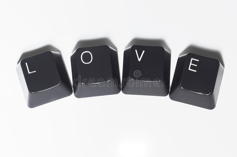 Love Spelled Out Royalty Free Stock Image