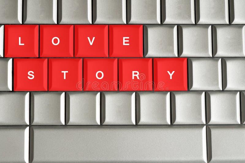 Love story message vector illustration