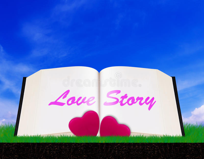 Love Story och Valentine Day Concept arkivfoton