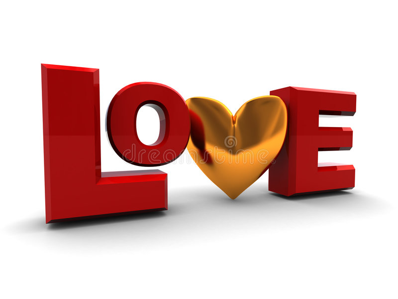 Love symbol royalty free illustration