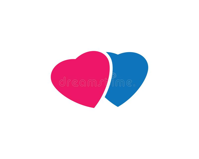 Love symbol illustration design. Love logo template symbol icon illustration design, help, hand, human, vector, health, abstract, background, valentine, isolated vector illustration