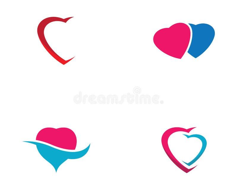 Love symbol illustration design. Love logo template symbol icon illustration design, holiday, celebration, romance, romantic, angel, wing, help, human, vector vector illustration