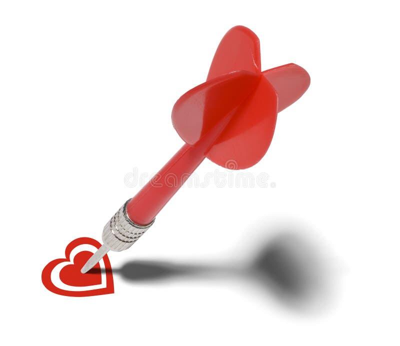 Love Target royalty free stock photos