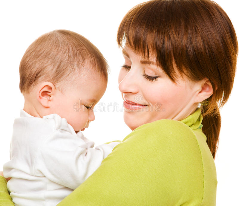 Download Love and tenderness stock image. Image of girl, mother - 15550633