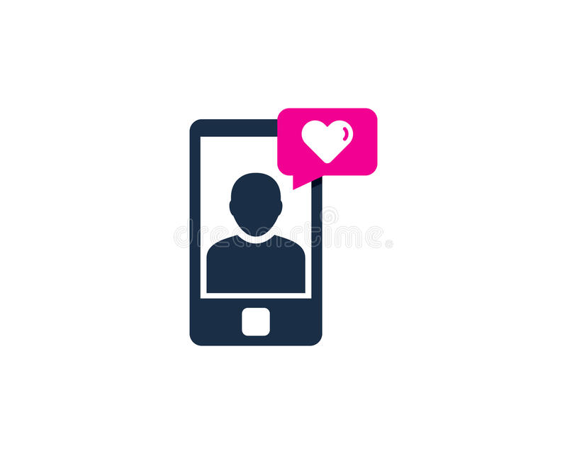 Love Testimonial Icon Logo Design Element. This design can be used as a logo, icon or as a complement to a design vector illustration