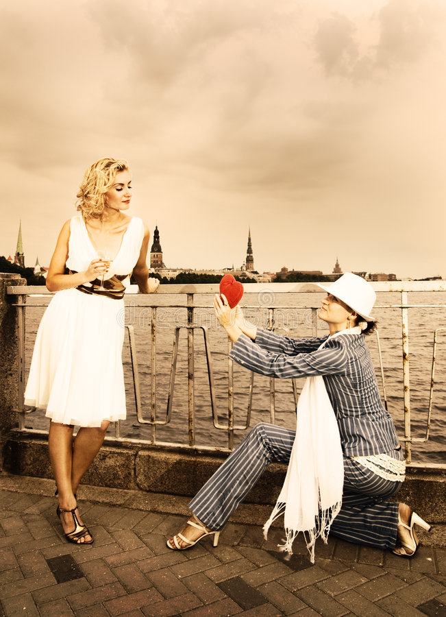 Love theme. Picture of a Vintage love theme royalty free stock photo