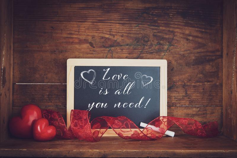 Love themes background stock images