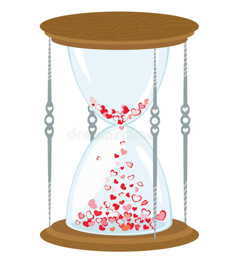 Download Love time has come stock vector. Image of time, ideas - 14792550