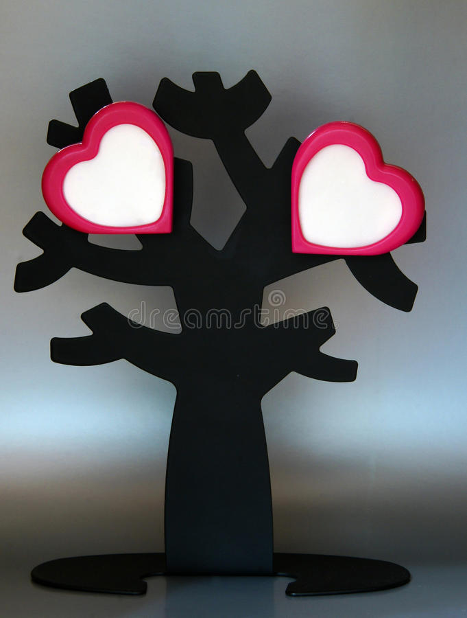 Download Love tree stock photo. Image of black, love, gray, background - 15810476