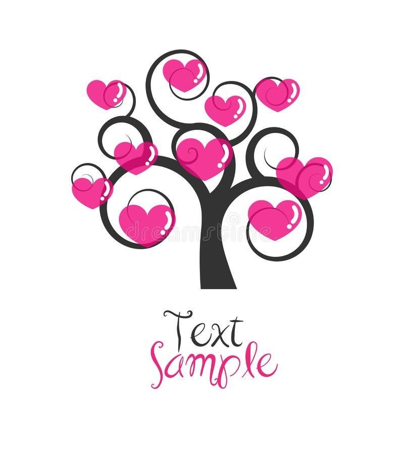 Download Love tree stock vector. Illustration of nest, illustration - 17849783