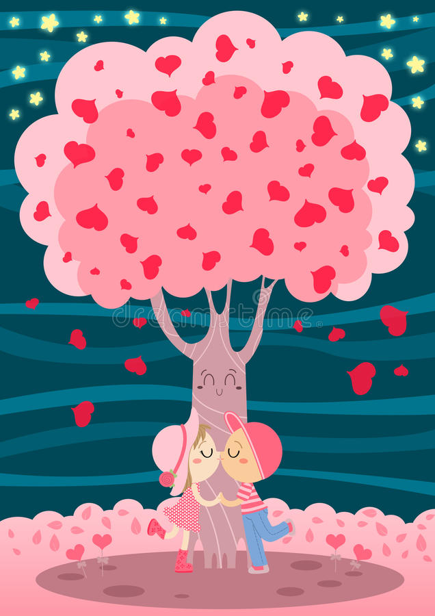 Free Love Tree Stock Photography - 24652262