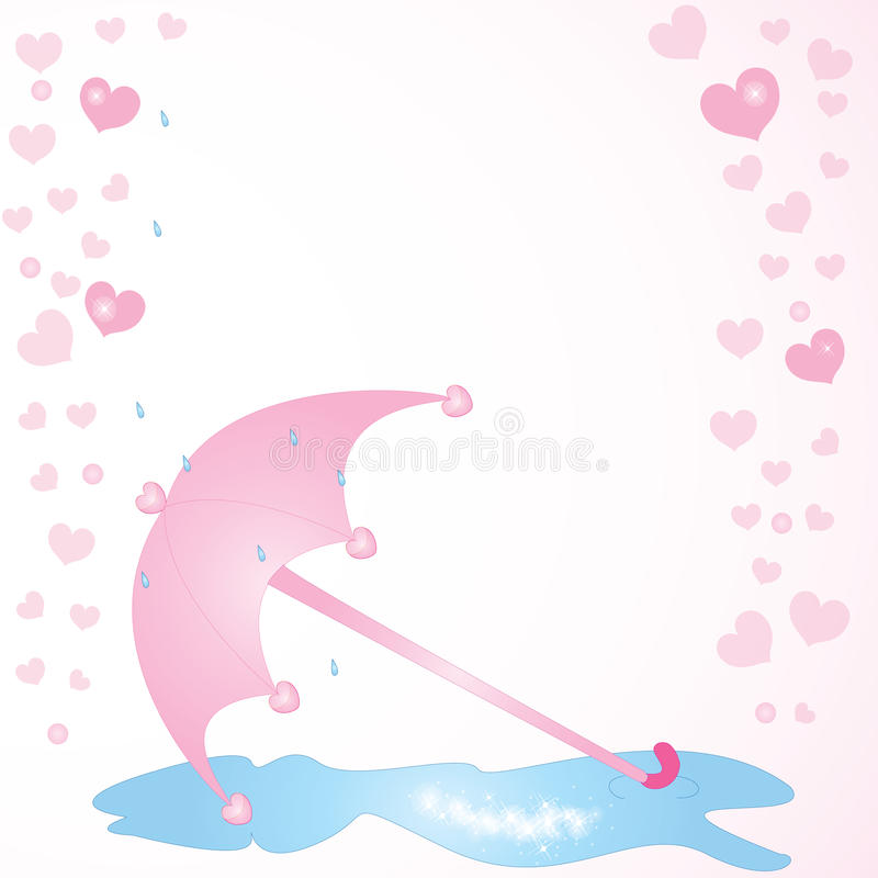 Download Love_umbrella stock vector. Image of guard, circle, dating - 15657833