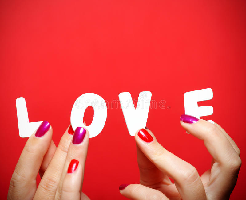 Love for valentines royalty free stock photography
