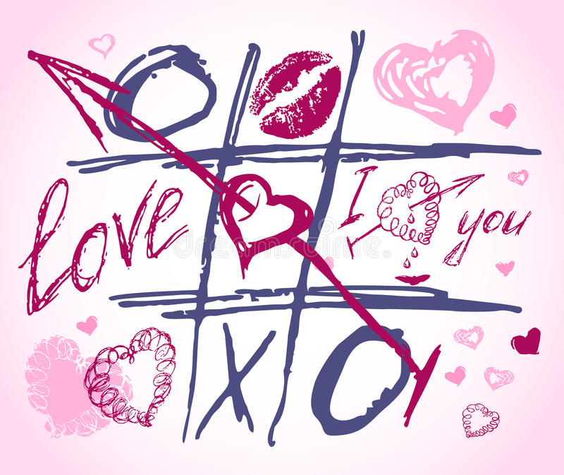 Download Love Vector Doodles. Set Icon - Hand Drawn Hearts Royalty Free Stock Image - Image: 20093666