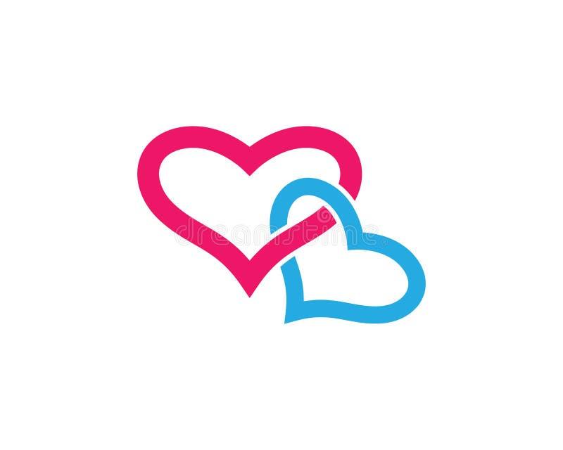 Love vector illustration design. Love logo template symbol icon illustration design, holiday, celebration, romance, romantic, angel, wing, help, human, vector royalty free illustration