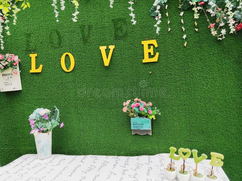 Love is a wonderful thing. May everyone get the love they want royalty free stock photo