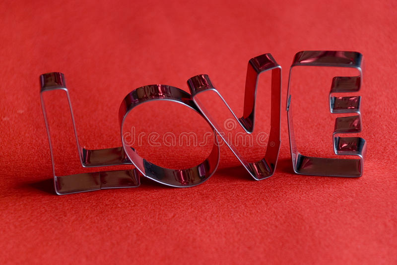 Love word royalty free stock photo
