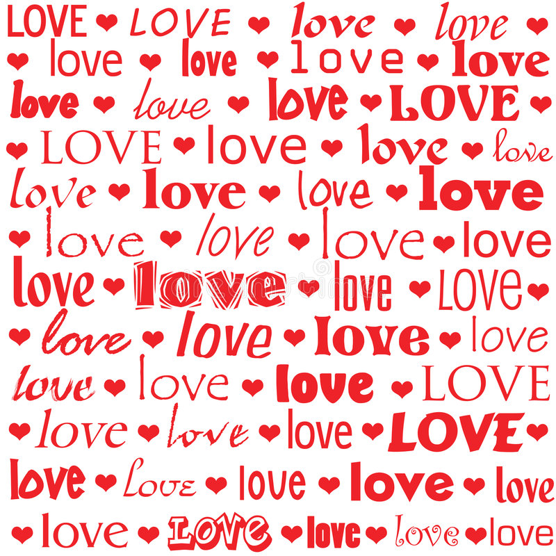 Love Is The Word Royalty Free Stock Image