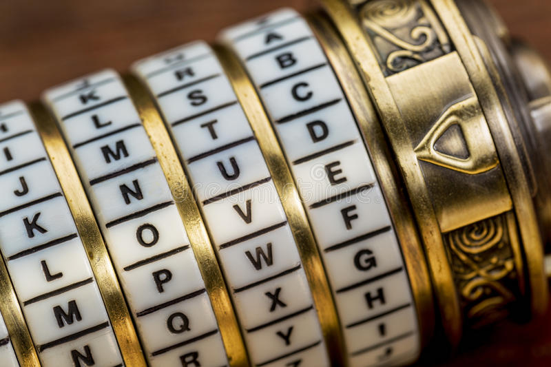 Love word as password royalty free stock photos