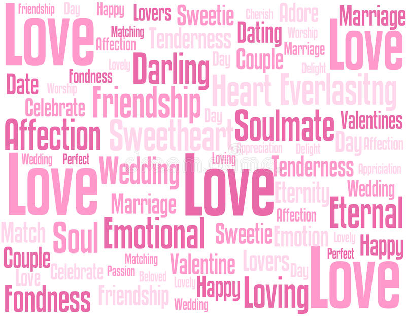 Download Love Wordcloud Background Stock Il Ration Il Ration Of Love