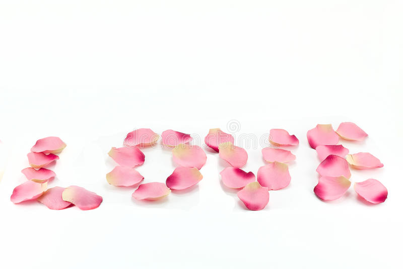 Love  Written Royalty Free Stock Photo