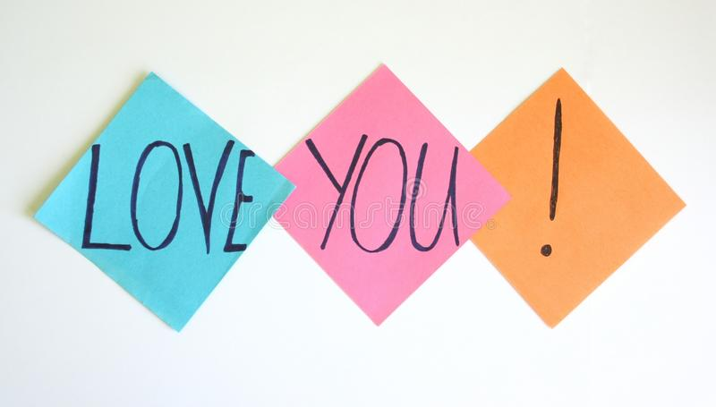 Download Love you stock image. Image of heart, people, writing - 15651169