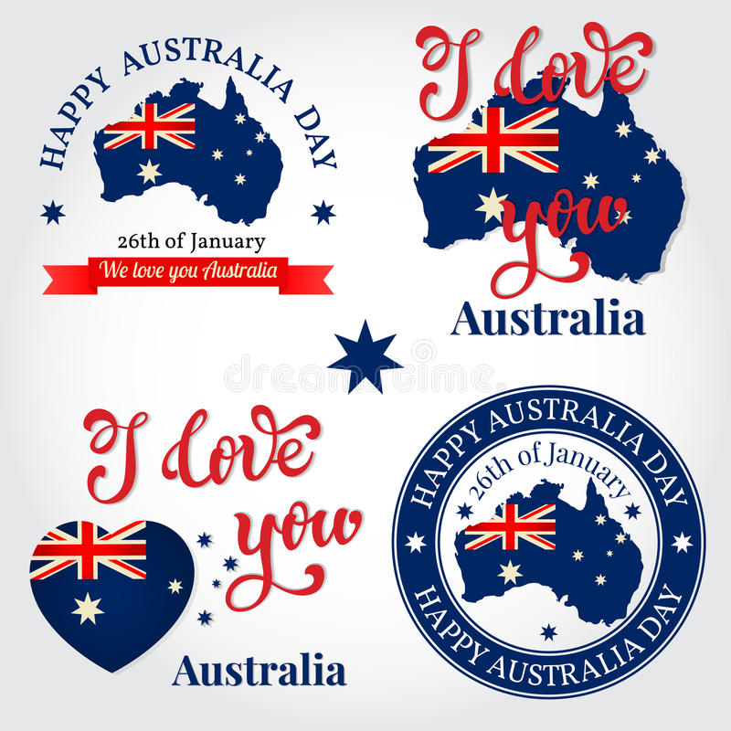 We love you australia badge label logo greeting card nationa download we love you australia badge label logo greeting card nationa stock m4hsunfo