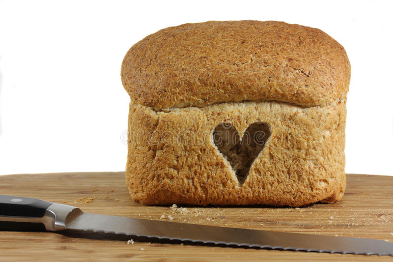 Love your wholewheat foods stock images