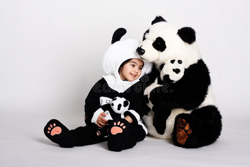 love4熊猫 免版税图库摄影
