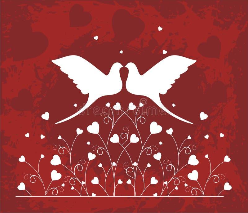 lovebirds бесплатная иллюстрация